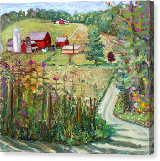 Meadow Farm Canvas Print