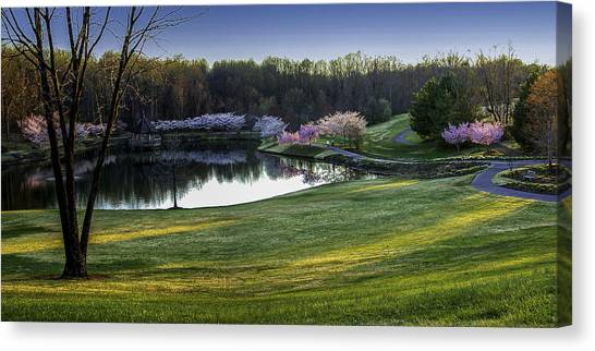 Meadowlark Gardens Canvas Print