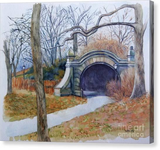 Meadowport Arch Prospect Park Canvas Print