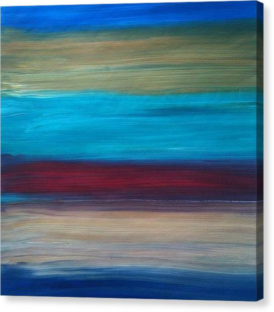 Expressionism Canvas Print - Meander by Stephen Lock