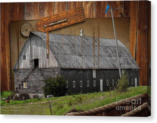Protractors Canvas Print - Measure Of Time Gone By by Liane Wright