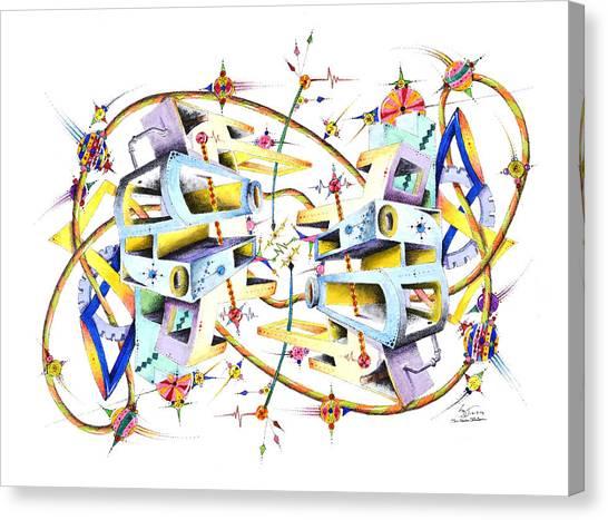 Mechergy Canvas Print