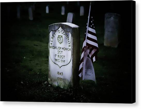 Medal Of Honor Canvas Print