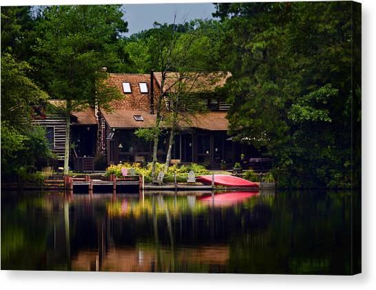 Medford Lakes I Canvas Print