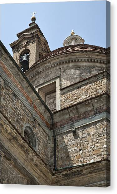 Medici Chapel And Basicilica Of San Lorenzo Canvas Print