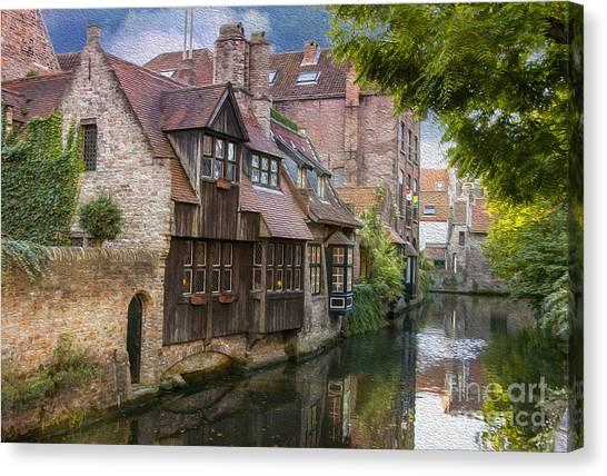 Medieval Bruges Canvas Print