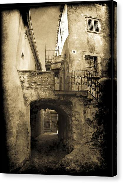 Medieval Croatia Canvas Print