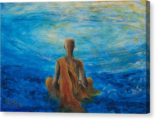 Meditation Canvas Print