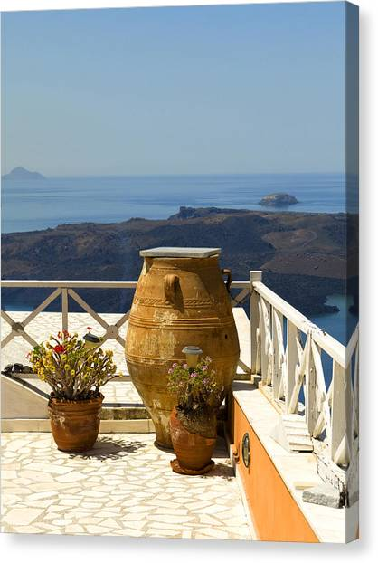 Mediterranean Meditation Canvas Print