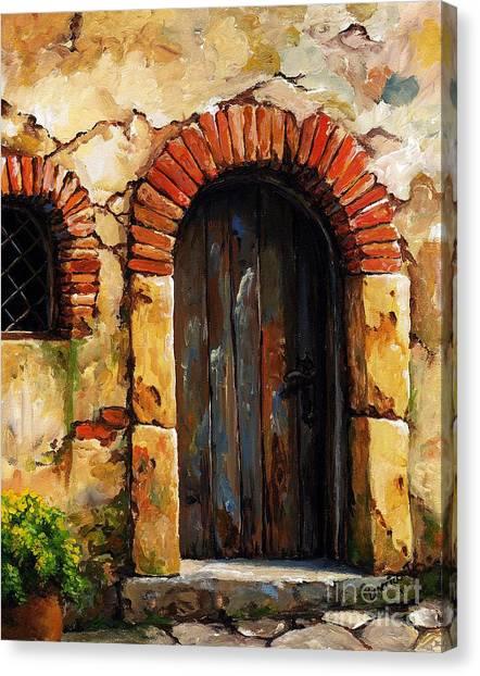 Portal Canvas Print - Mediterranean Portal 02 by Emerico Imre Toth