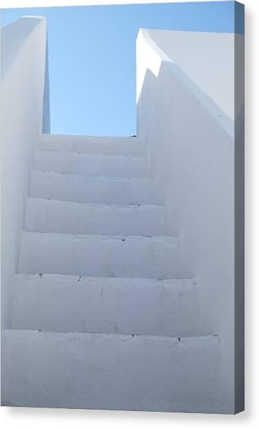 Mediterranean Staircase Canvas Print