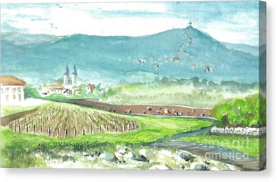 Medjugorje Fields Canvas Print