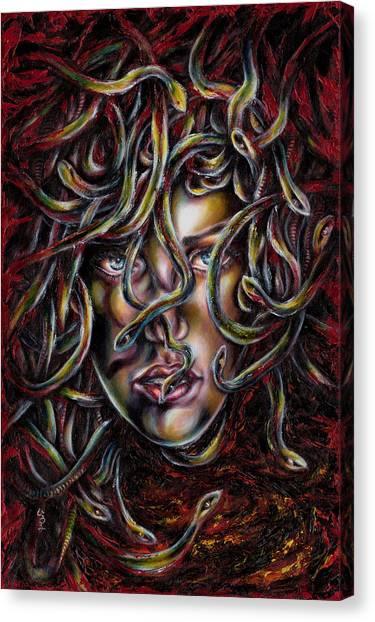 Medusa No. Three Canvas Print