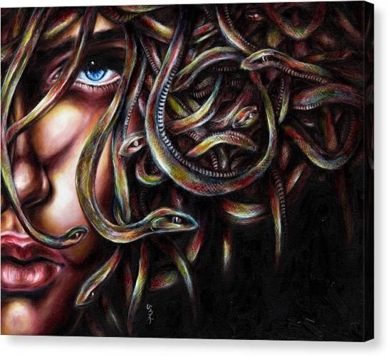 Medusa No. Two Canvas Print
