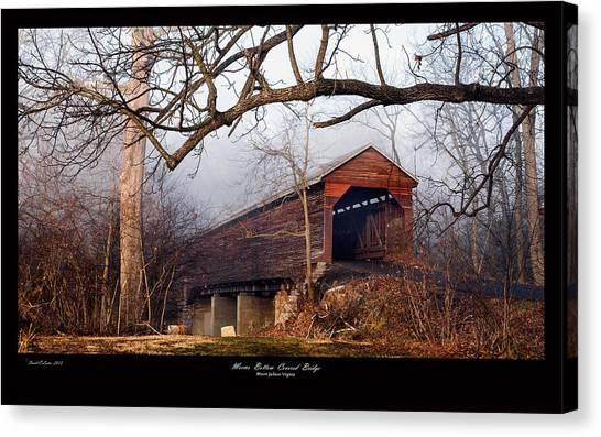 Meems Bottom Bridge 7 Canvas Print