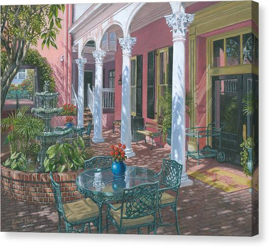 Fibonacci Canvas Print - Meeting Street Inn Charleston by Richard Harpum
