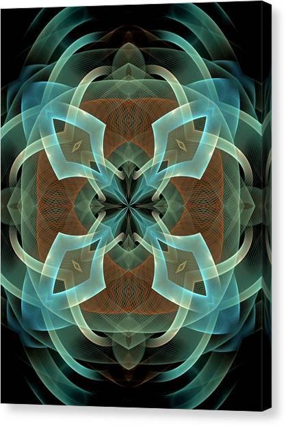 Bachelorette Canvas Print - Melange-center-center-3panel-abb by Bill Campitelle