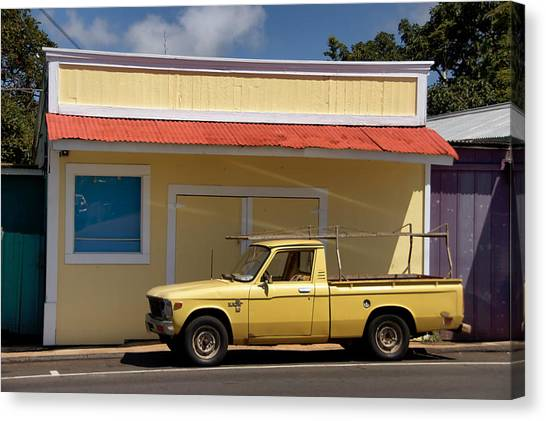 Canvas Print featuring the photograph Mellow Yellow by Trever Miller