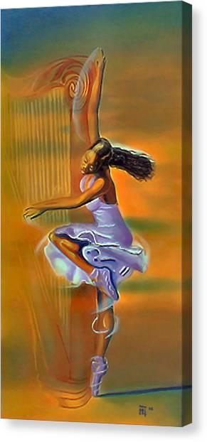 Melody Meridian Canvas Print by  Fli Art