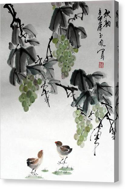 Melody Of Life Canvas Print