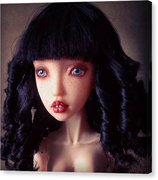 Baroque Art Canvas Print - Melody- One Of A Kind Art Doll by Anna Gechtman