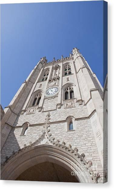 Memorial Union Clock Tower Canvas Print