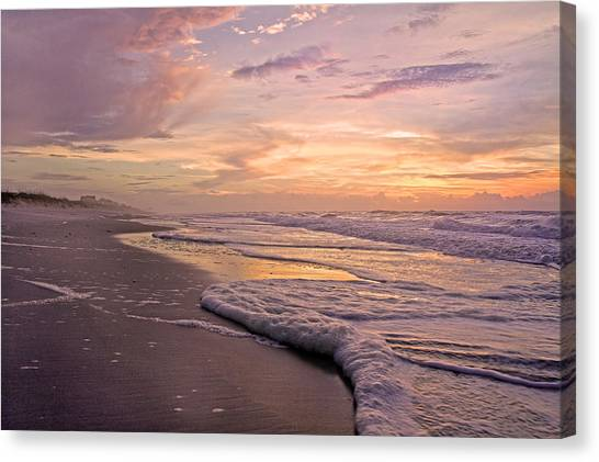 Tumbling Canvas Print - Memories Are Forever by Betsy Knapp