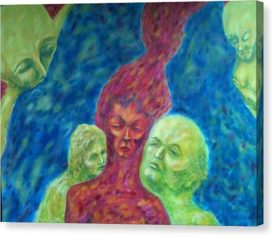 Memories Canvas Print by Felicia Roberts