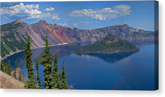 Memories Of Crater Lake Canvas Print