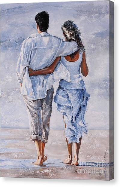 Memories Of Love Canvas Print