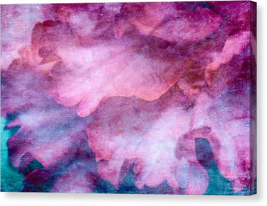 Canvas Print featuring the mixed media Memories Of Petals by Priya Ghose