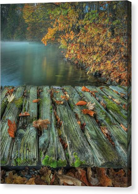 Memories Of The Lake Canvas Print
