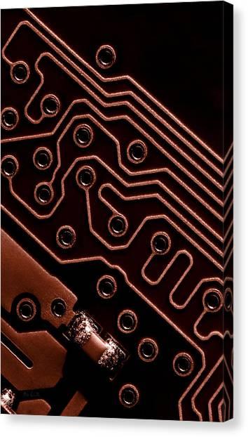 Nsa Canvas Print - Memory Chip by Bob Orsillo