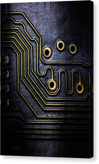 Nsa Canvas Print - Memory Chip Number Two by Bob Orsillo