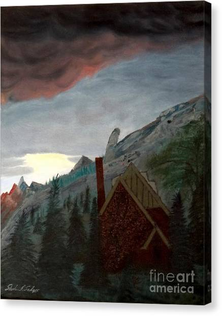 Memory Of Jonbenet Ramsey Canvas Print by Stephen Schaps