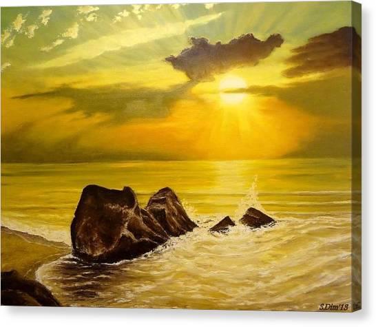 Memory Of Summer Canvas Print by Svetla Dimitrova