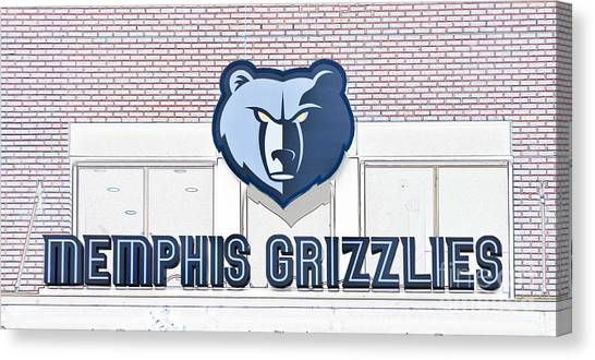 Memphis Grizzlies Canvas Print