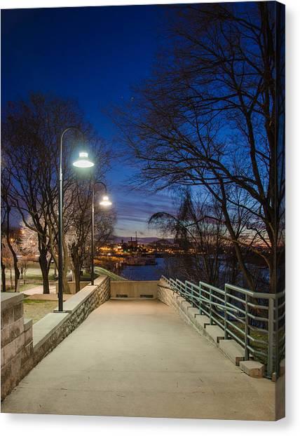 Memphis Riverfront Canvas Print