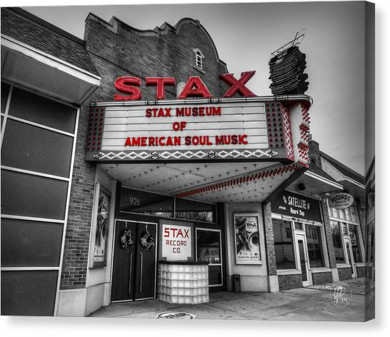 Memphis - Stax Records 001 Ck Canvas Print