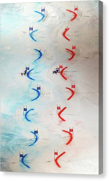 Men And Womens Nations Team Event - Canvas Print