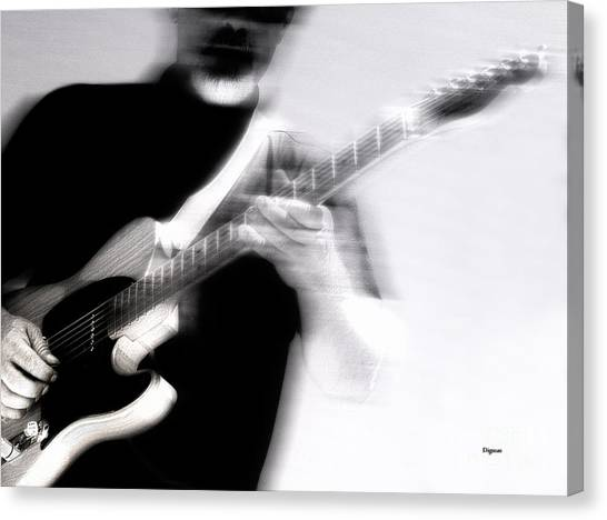 Men Who Play Canvas Print by Steven Digman
