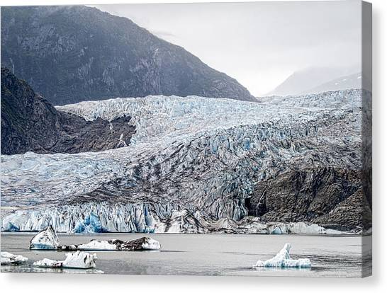 Mendenhall Glacier 1 Canvas Print