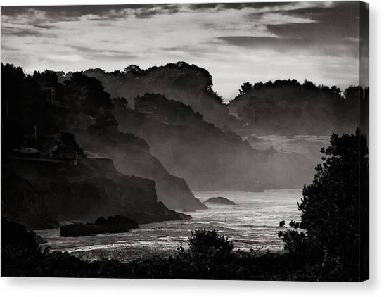 Mendocino Coastline Canvas Print