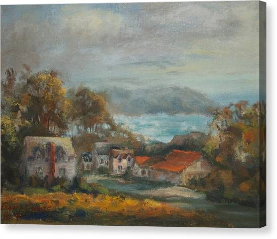 Mendocino Evening Canvas Print