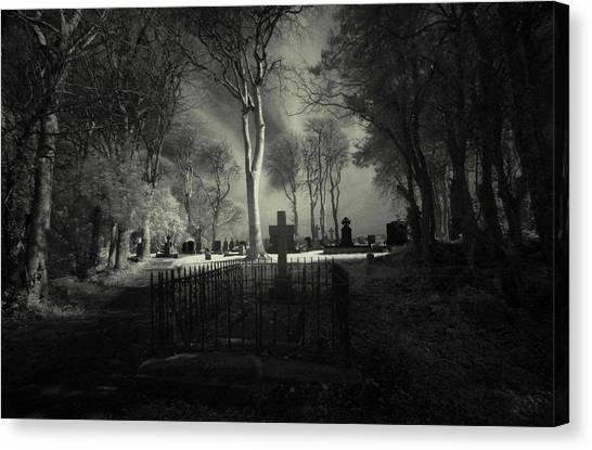 Menlo Cemetery Canvas Print
