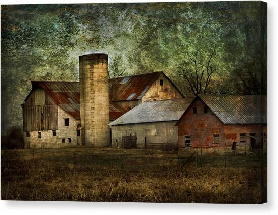 Mennonite Farm In Tennessee Usa Canvas Print