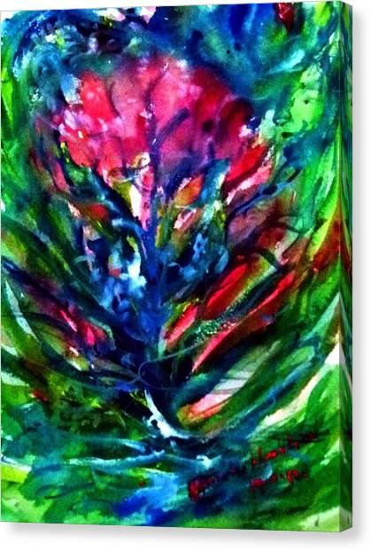 Mental Energy. Canvas Print