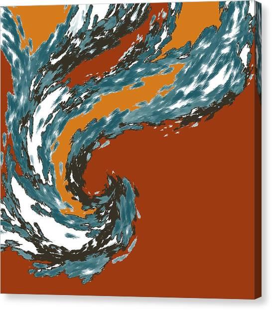 Mental Momentum Canvas Print