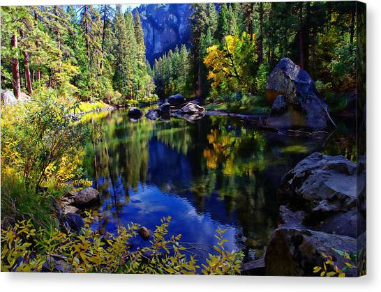 Merced River Yosemite National Park Canvas Print