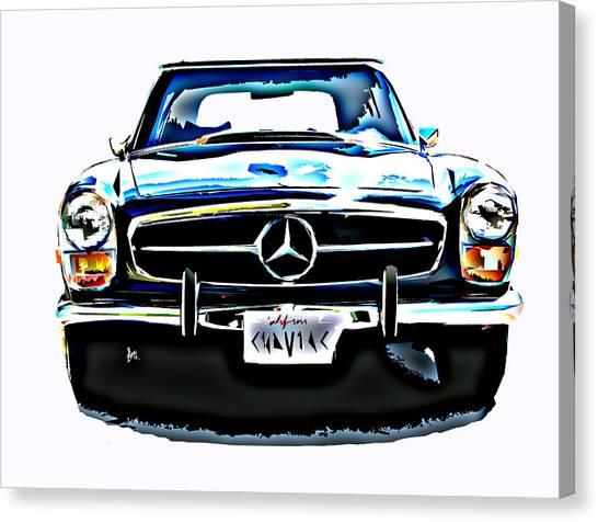 Mercedes Benz 280sl Roadster Canvas Print